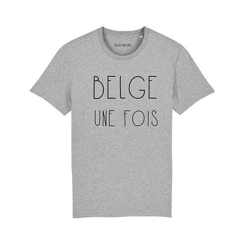 Belge une fois - T-shirt Belge une fois - Homme - Taille L