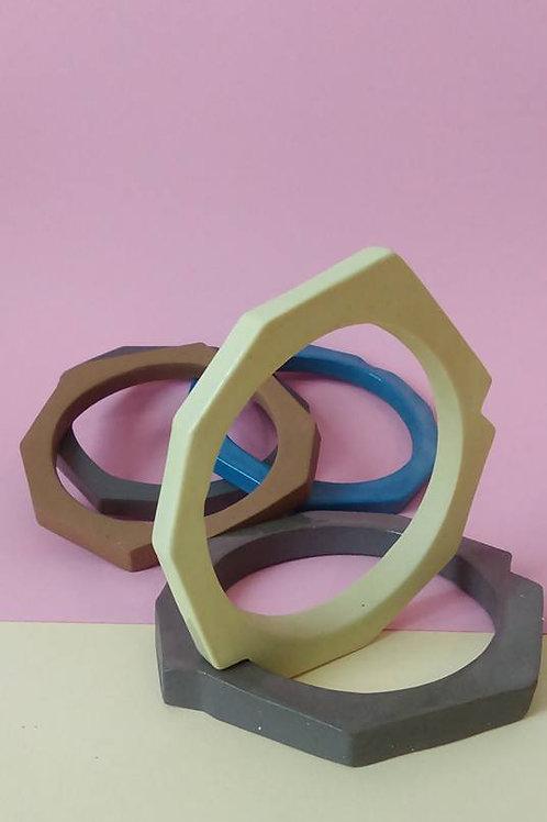 Charlotte Coquen - Bracelet en porcelaine