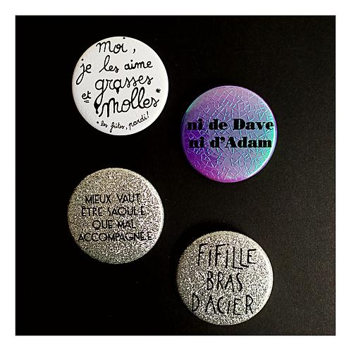 La Maculée Conception - Badges