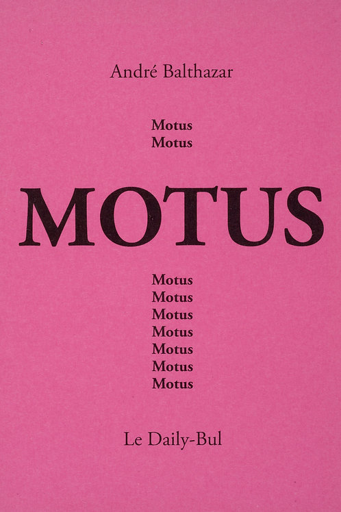 Editions Daily-Bul - Motus