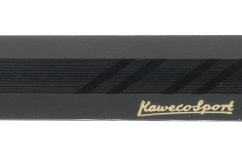 "KAWECO - Porte-mine ""Clutch"" Sport Classic Guilloche noir"