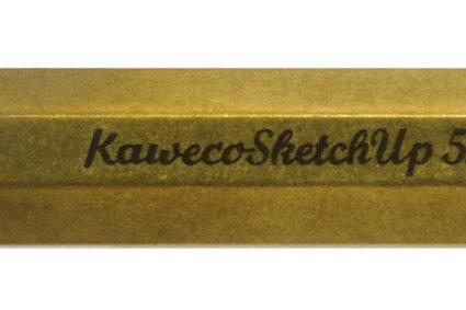 Kaweco - Porte-mine Sketch Up Raw Brass. Mine 5,6mm