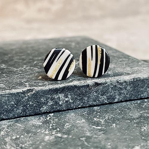 "Carat de terre - Boucles d'oreilles ""UEDA"""