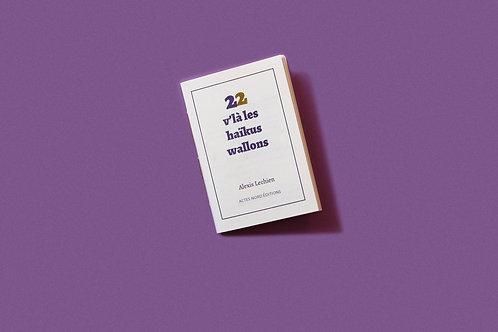 Actes Nord éditions - 22 V'là les haïkus wallons par Alexis Lechien