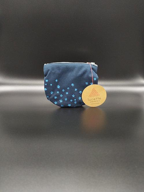 Lucette Graphitextilerie - Petite pochette arrondie