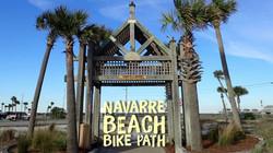 NAVARRE BEACH BIKE PATH