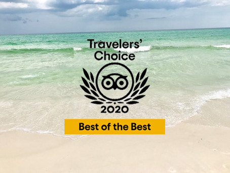 Best of the Best Travelers' Choice 2020 Florida Panhandle Communities in Top 25 Beaches | GoVetted®