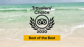 Trip Advisor Ranks Best of the Best Travelers' Choice 2020 Top 25 Beaches To Include FL Panhandle