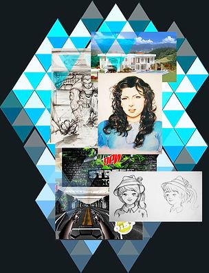 Trabajos y dibujos de Iván Leon. Chavarro