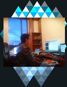 Trabajando duro en el videojuego Kbot , salvando al mundo