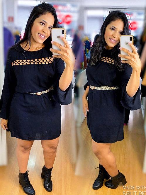 Vestido Plus Liso