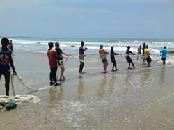 Fishing in Gambia