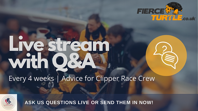 AUGUST | Advice for Clipper Race Crew