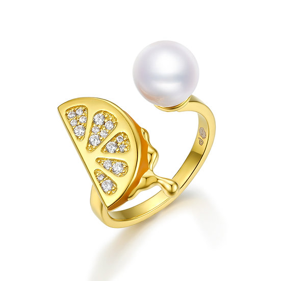Pure Temptation Ring 18Ct Gold Plate