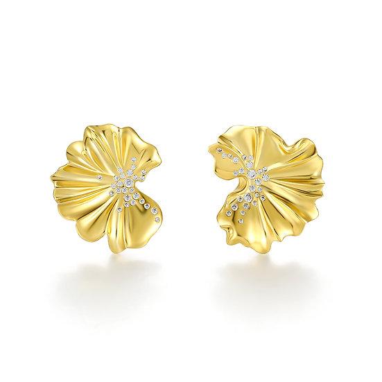 Praise Earrings Gold