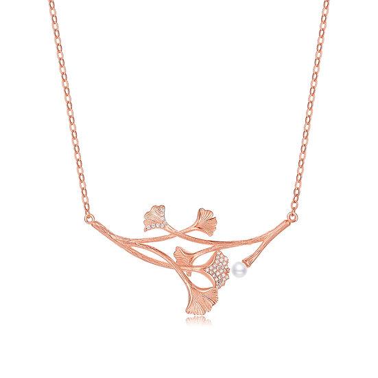 Balance Necklace Rosegold