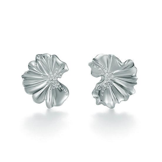 Praise Earrings Silver