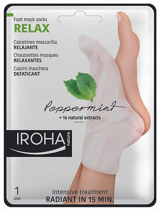 6594-03 Relax Socks Peppermint & 16 nat. Extrakte