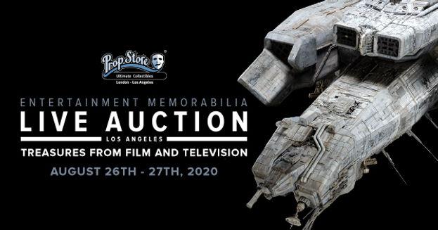Prop Store - Entertainment Memorabilia Live Auction: Los Angeles