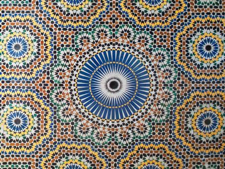 padrões geométricos islâmicos