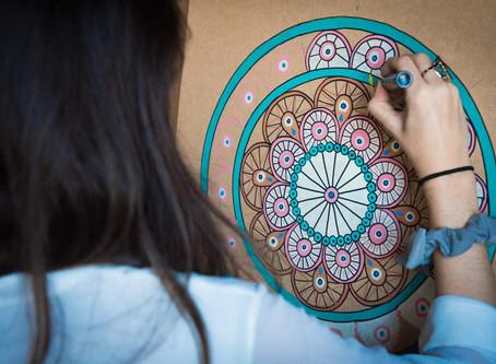 focus on arts: live painting e armênia