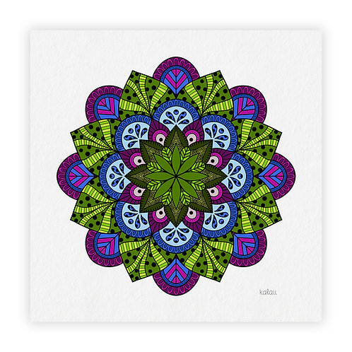 mandala tropical
