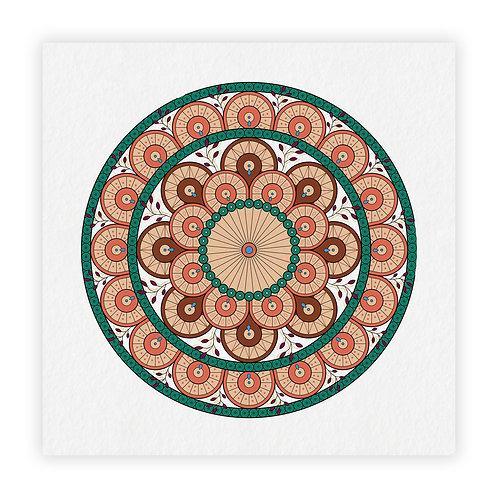 mandala cascade - coleção armênia