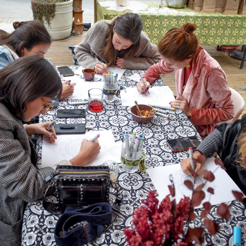 workshop de mandalas