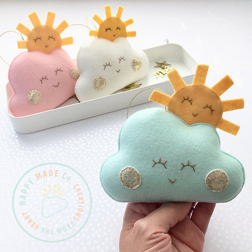 Happy Cloud Sun | Be Happy Edition Plushie