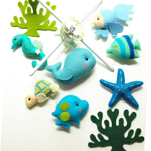 Oceanography | Storybook Baby Mobile