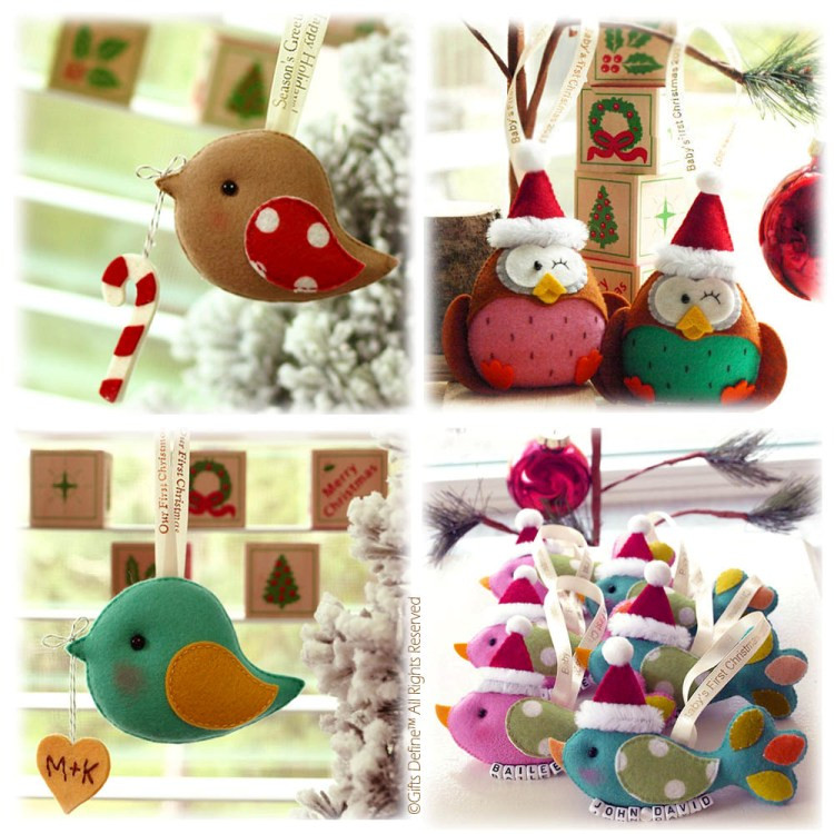 The-Greeting-Birds and Baby's-First-Christmas-Keepsake