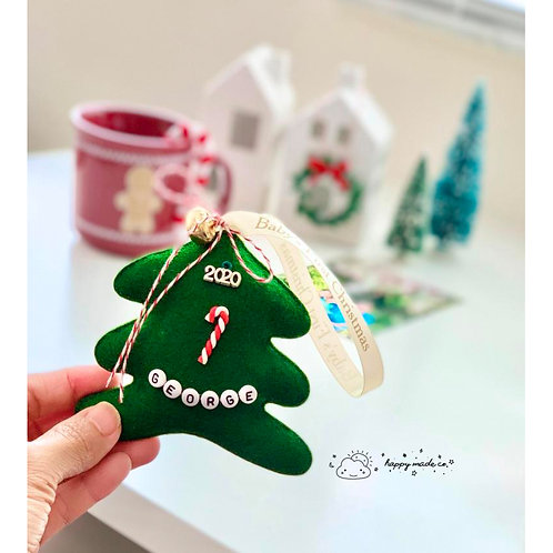Baby's First Holiday Tree | Newborn Keepsake