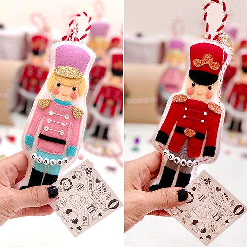 PEPPERMINT PALS | Festive Holiday Ornament