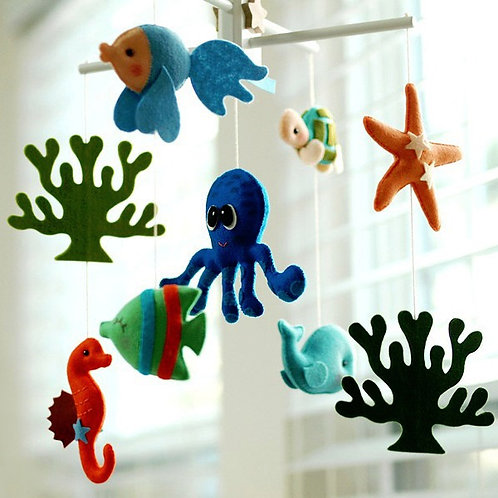 Ocean Octopus and Sea Friends | Baby Mobile