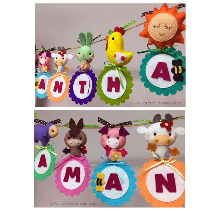 Custom Name Banner - Farm Theme