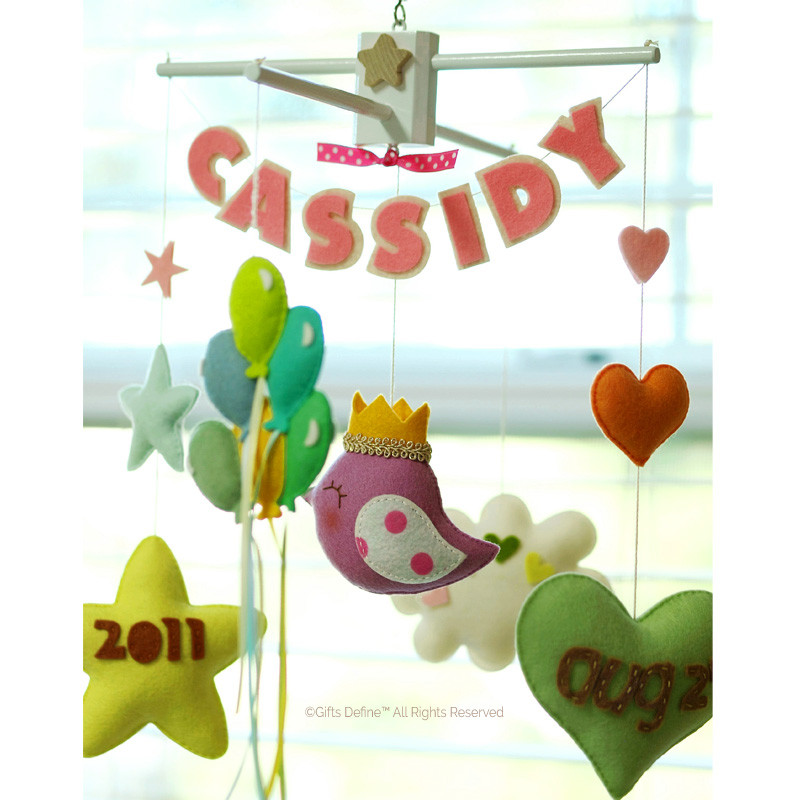 Baby Story Personalized Baby Mobile