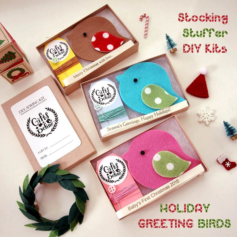 Stocking Stuffer for Crafter DIY Sewing Kit