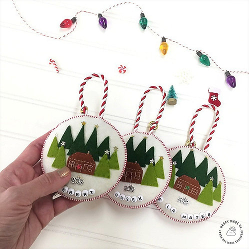 Christmas Wonderland | Personalized Holiday Ornament