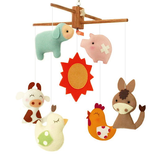 Playhouse Farm | Storybook Baby Mobile