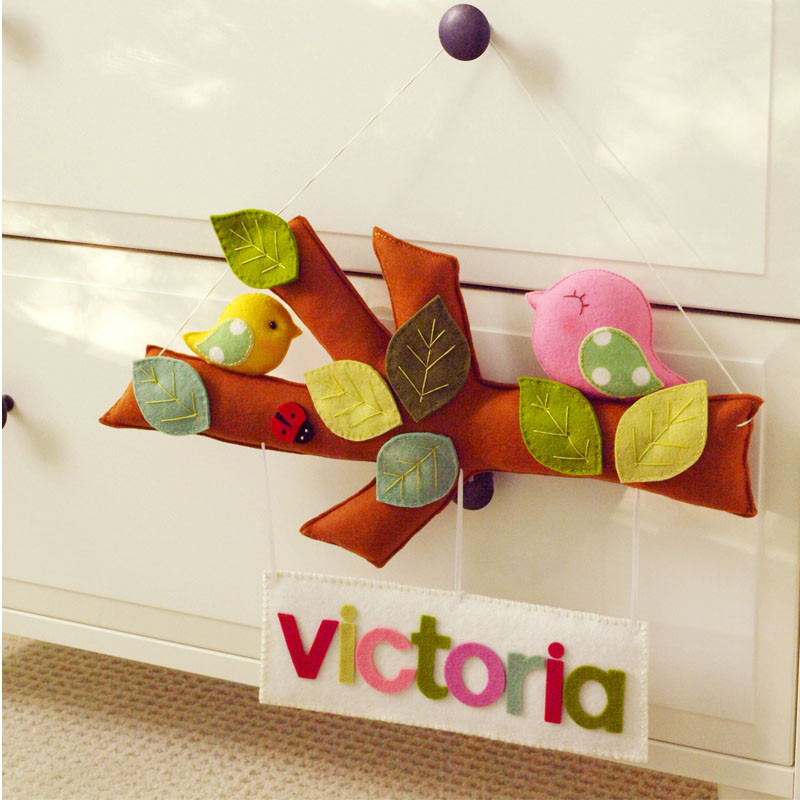 Personalized Tree Story with Bird Parade design