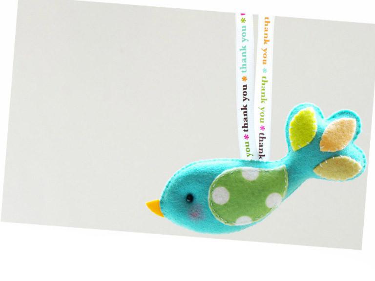 Thank YOU Conversation Bird from Gifts Define