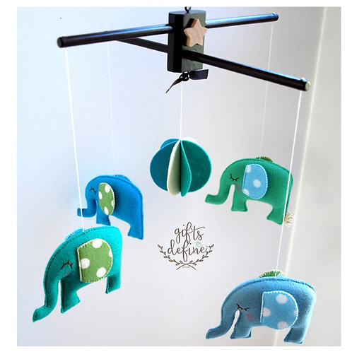 Elephant Carnival | Storybook Baby Mobile