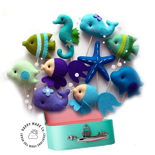Under the Sea Fish | Party Topper Ornament