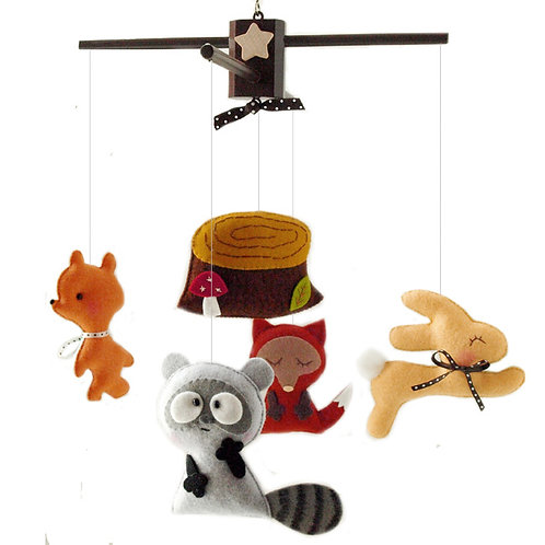 Enchanting Forest   Storybook Baby Mobile