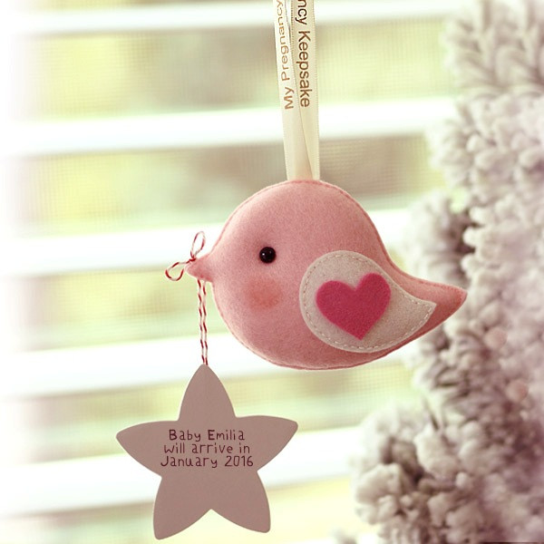 Pregnancy Keepsake Greeting Bird