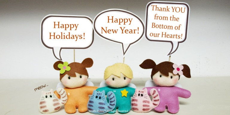 Happy Holidays from Gifts Define!