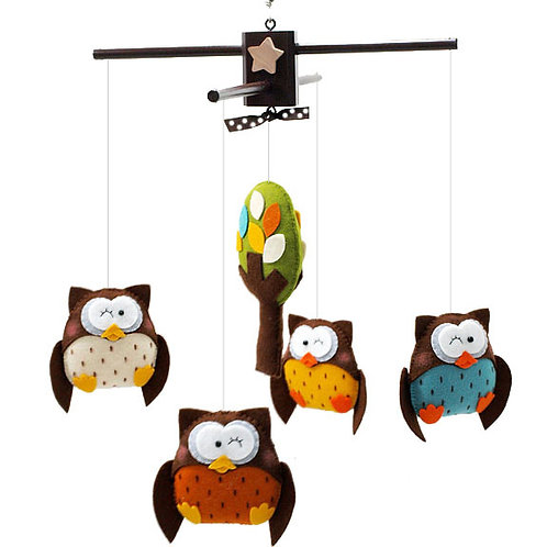 Owl Wonderful | Baby Mobile