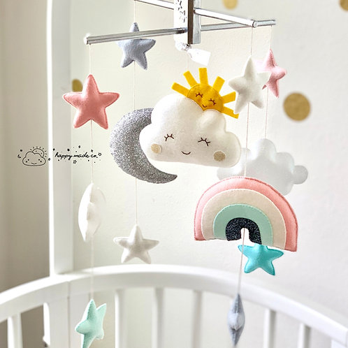 Celestial Sky | Storybook Baby Mobile