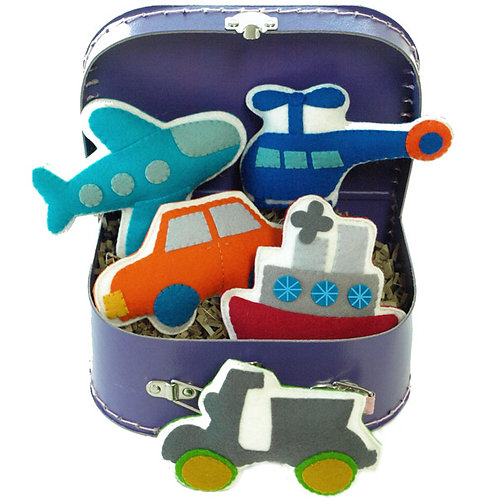 Bon Voyage | Transportation Theme Play Set