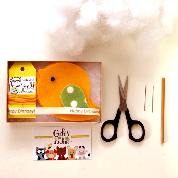 Gifts Define DIY sewing Kit